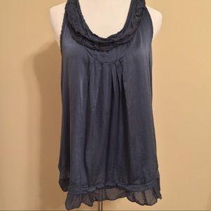 True LOVE silk tank top blouse size S/M